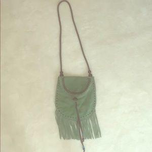Lucky brand - Greene suede shoulder bag
